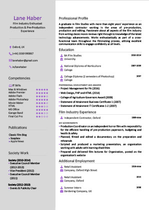 James Innes Group - The Resume Centre - Canada (CA) - CV Resume Example 3